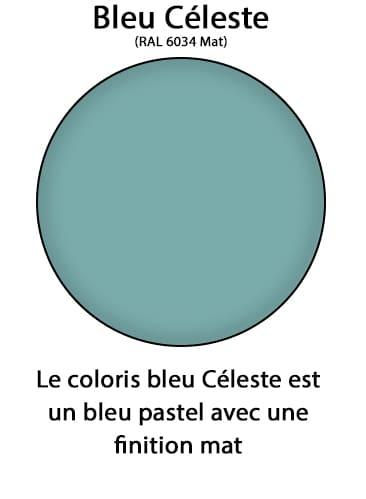 bleu céleste