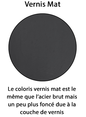 couleur vernis mat
