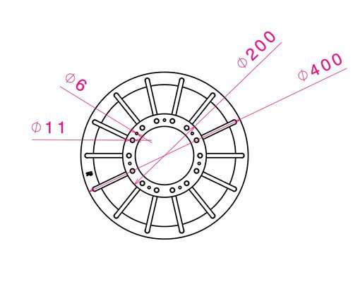 technical sheet Harmonious 20 cm