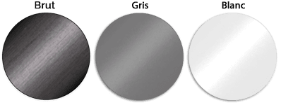 palette de couleur brut, gris, blanc