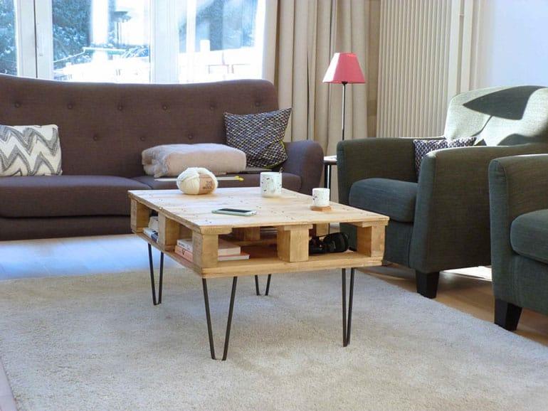 Atelier ripaton pieds de table design hairpin legs - Fabriquer des pieds de table ...