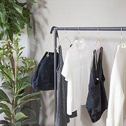 Portants pour vêtements en Acier L'Ordonné