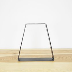 Steel table leg the refined