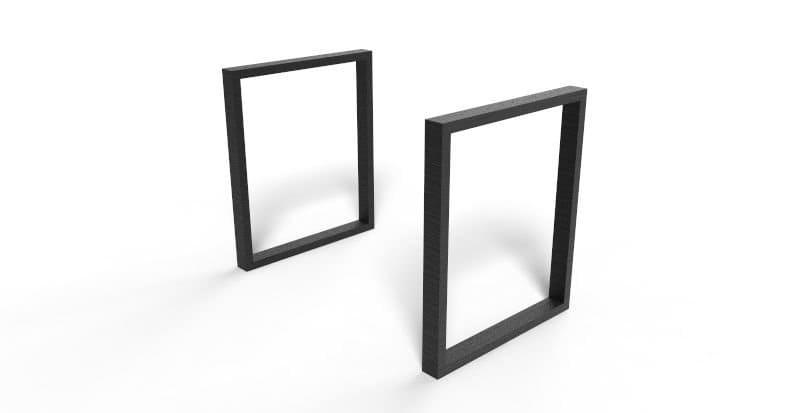 Pieds de table design l intrépide fabrication française